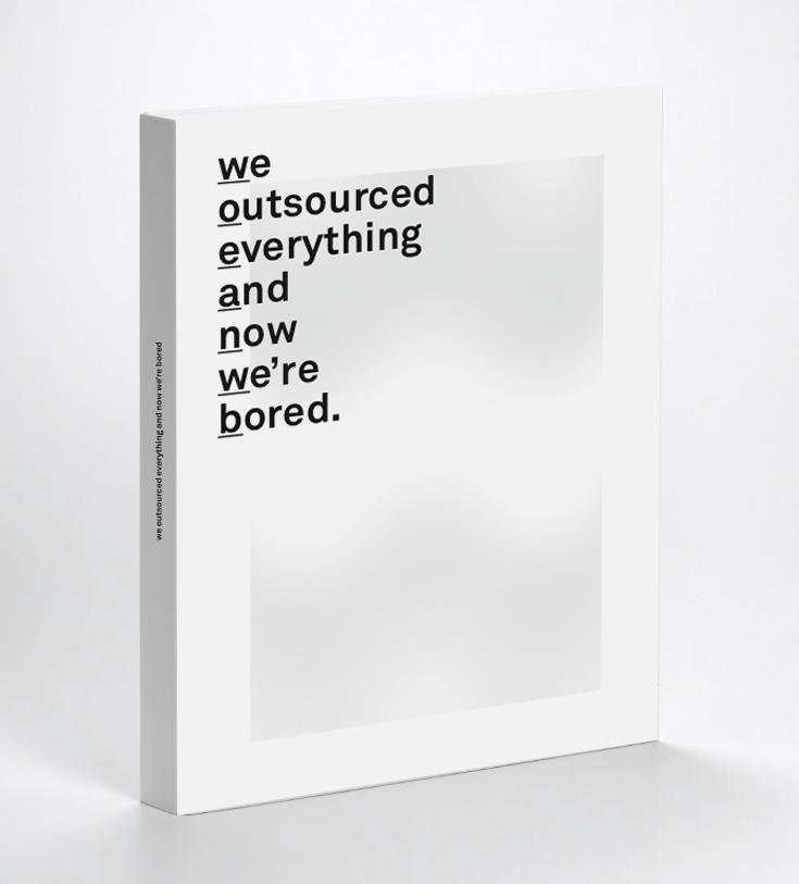 outsourced book