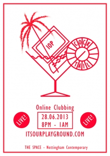 IOP x Cocktail (Online Club Night)
