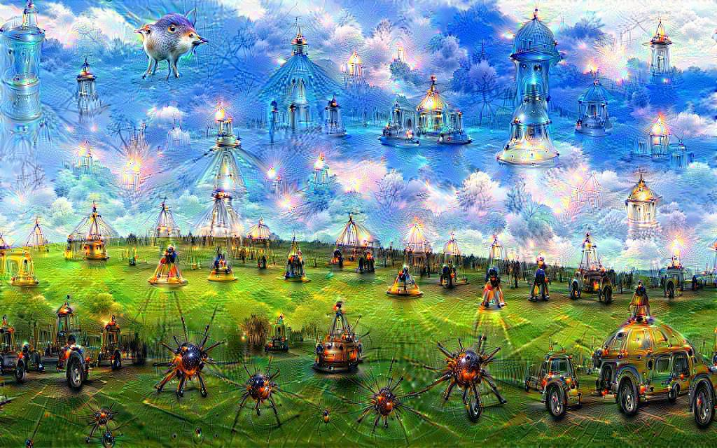 #DeepDream Bliss