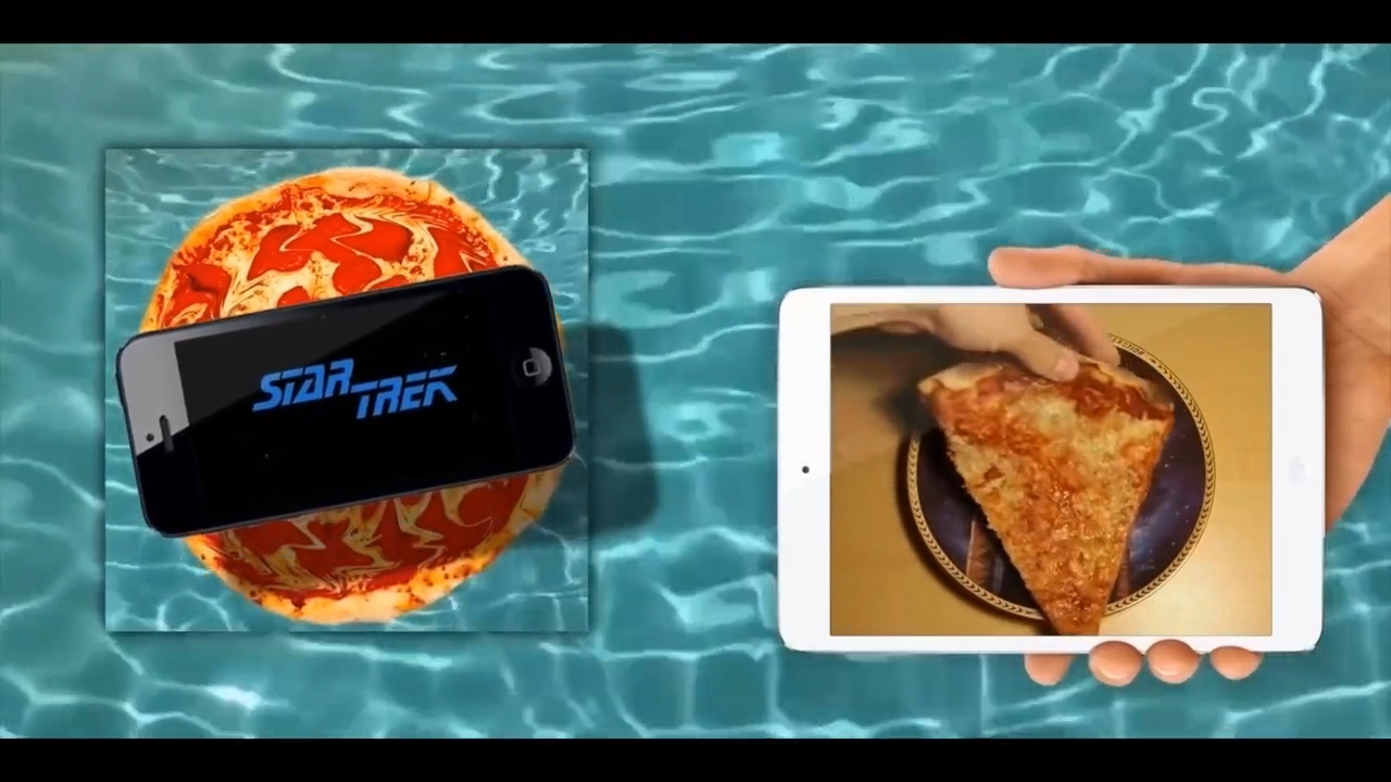 Star Trek Pizza Pool Party